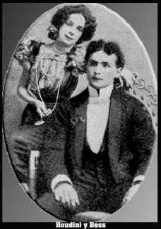 Houdini y su esposa