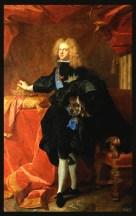 Felipe V Rey de España, Palacio de Versalles