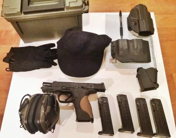 Gears used for D5 handgun class