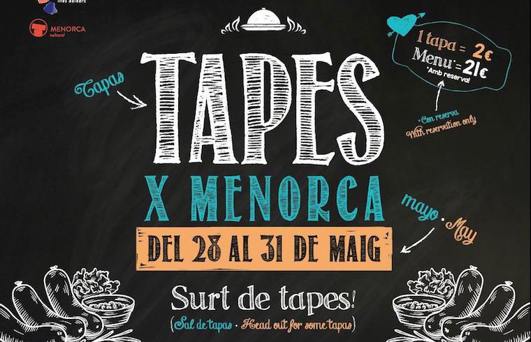 Cartel TapesxMenorca Exquisita Menorca