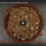 Perol de caracoles, patata y cordero elaborado por Dani Florit del restaurante Ca n'Aguedet des Mercadal
