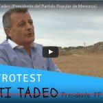 Santi Tadeo Tadeo responde gastrotest a Exquisita Menorca