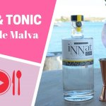 Gin Tonic Flor de Malva elaborado para Exquisita Menorca en Venecia Lounge & Events para Exquisita Menorca con iNNat Gin de Licores Biniarbolla