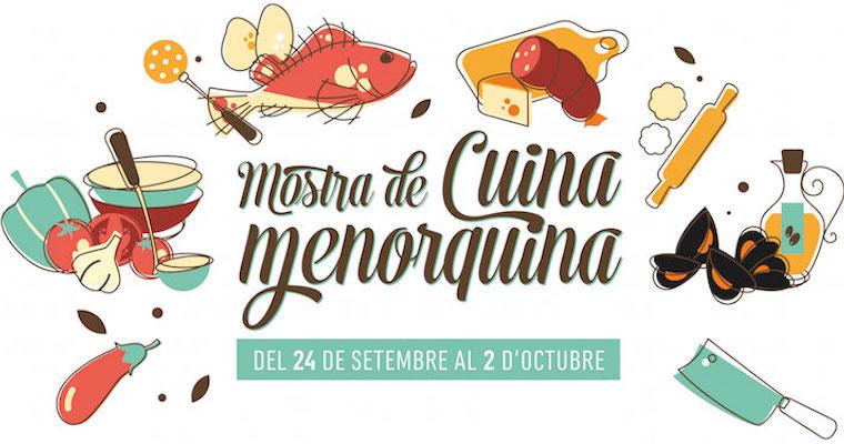 Logo de la mostra de Cuina Menorquina 2016