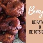 Los menorquines celebran la fiesta de Todos los Santos comiendo bunyols de patata o de boniato