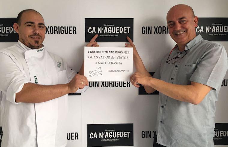 Ca n'Aguedet fue el restaurante premiado por el público de la Gastro-Cita con Mahonesa
