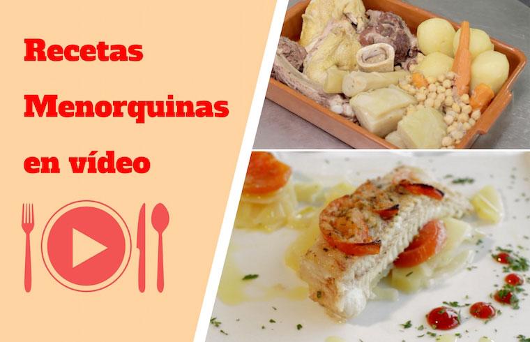 Exquisita Menorca realiza dos videos de recetas tradicionales de Menorca para promocionar la gastronomía de la isla