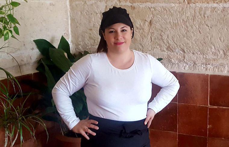 Estefanía Quintana Cocinera Susy Macarella y Es Banyul Exquisita Menorca