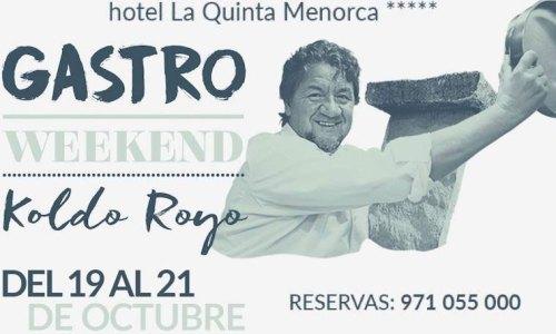 Gastroweekend con Koldo Royo