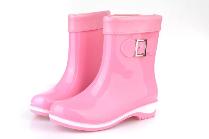 Fashion-Winter-Women-s-Non-slip-short-Casual-Single-Boots-Waterproof-Add-Cotton-Side-buckle-Flats