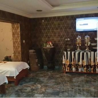 A treatment room at BNatural