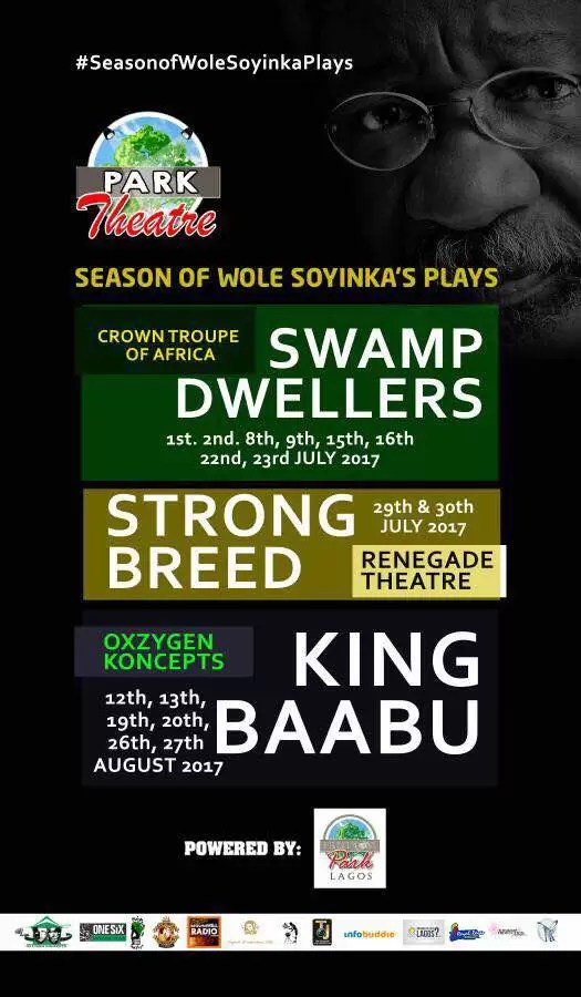 EMNews - Park Theatre Announces The Wole Soyinka Series of plays 1