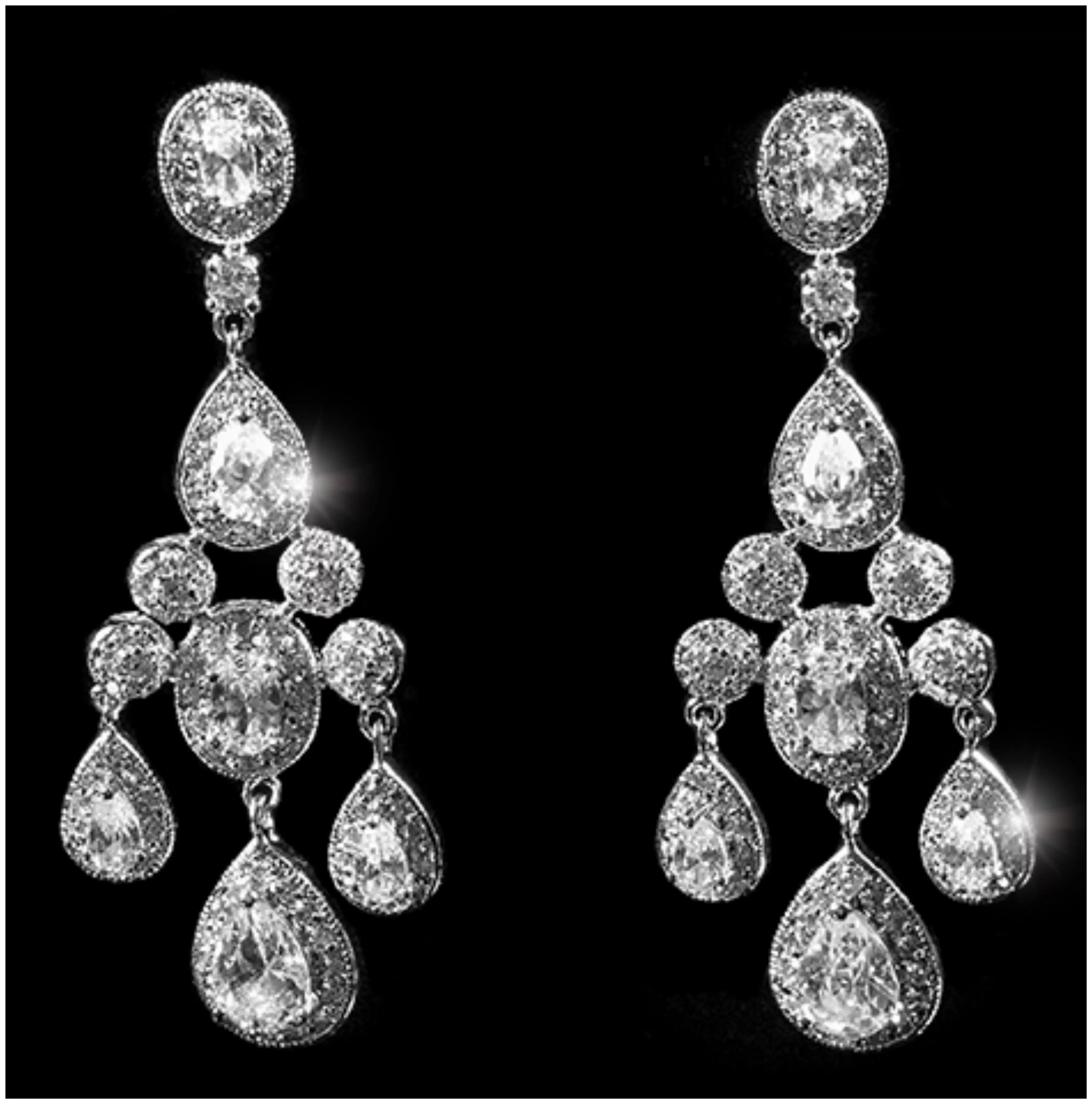 Fashion chandelier earrings exquisite magazine arubaitofo Choice Image