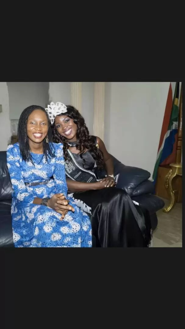 EMNews - SOUTH AFRICA AMBASSADOR PLAYS HOST TO MRS NIGERIA UNIVERSE QUEEN. 16