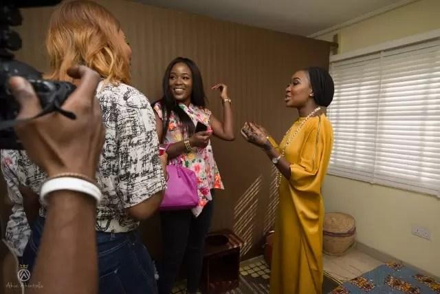 EMNews - Osas Ighodaro, Idia Aisien, Maria Okan, attend the Mai-Saa Northern beauty spa launch. 56