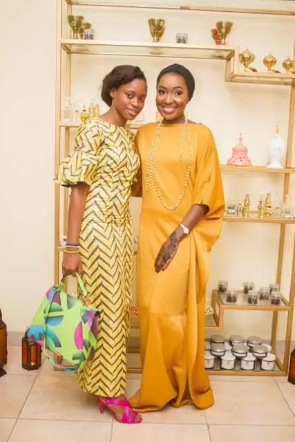 EMNews - Osas Ighodaro, Idia Aisien, Maria Okan, attend the Mai-Saa Northern beauty spa launch. 43