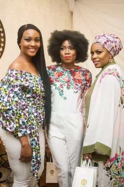 EMNews - Osas Ighodaro, Idia Aisien, Maria Okan, attend the Mai-Saa Northern beauty spa launch. 41