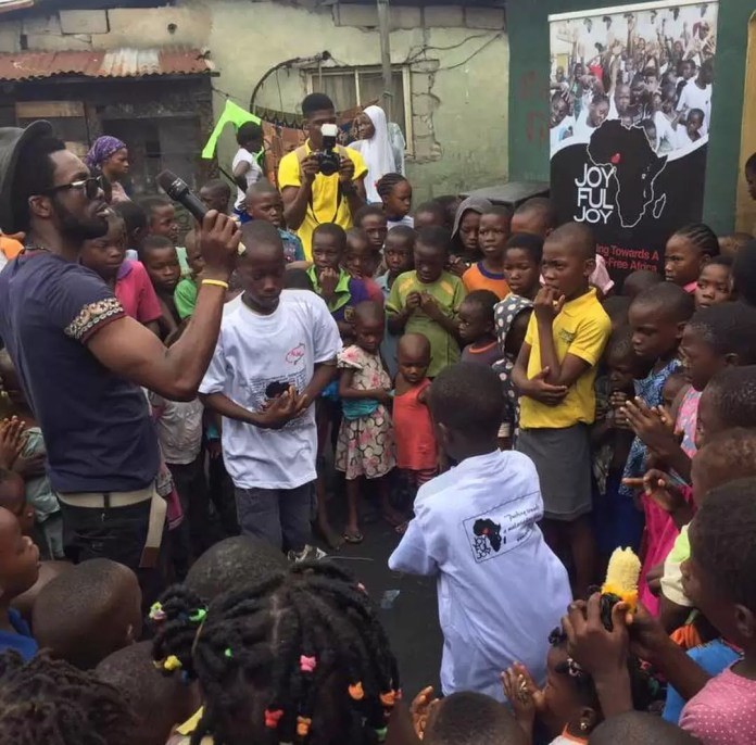 EMNews - Nollywood Actress; Osas Ighodaro Ajibade outreach for Joyful Joy Foundation 4