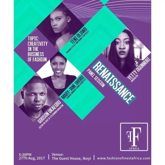 EMNews - FASHIONS FINEST AFRICA RENAISSANCE: MEET THE PANELISTS 1