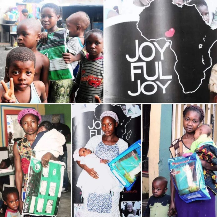 EMNews - Nollywood Actress; Osas Ighodaro Ajibade outreach for Joyful Joy Foundation 1