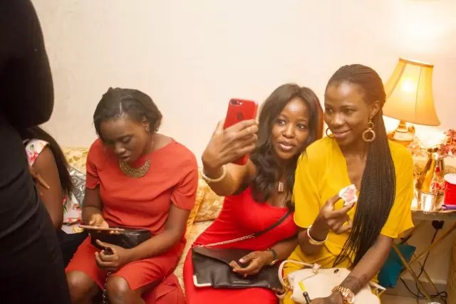 EMNews - Osas Ighodaro, Idia Aisien, Maria Okan, attend the Mai-Saa Northern beauty spa launch. 34