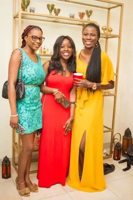 EMNews - Osas Ighodaro, Idia Aisien, Maria Okan, attend the Mai-Saa Northern beauty spa launch. 39