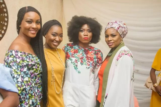 EMNews - Osas Ighodaro, Idia Aisien, Maria Okan, attend the Mai-Saa Northern beauty spa launch. 37