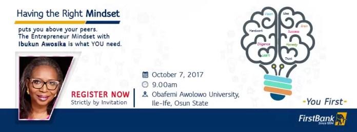 The Entrepreneur Mind-set - A mentoring session with Ibukun Awosika 1