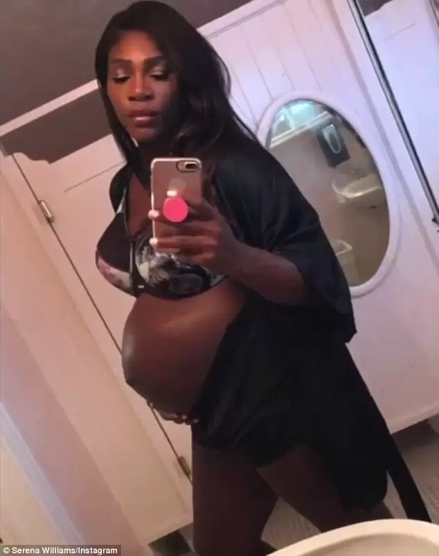 Serena Williams welcomes baby.. 2