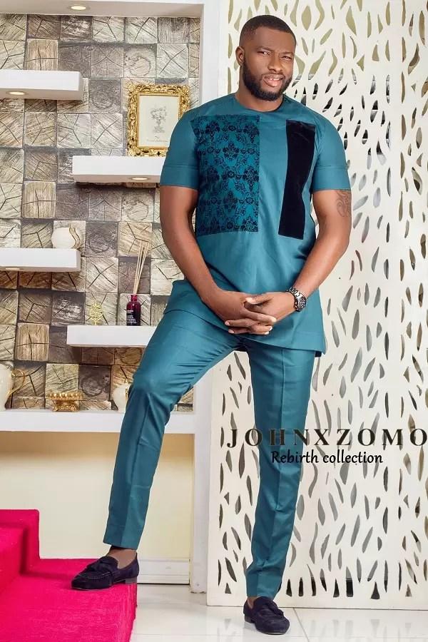 Johnxzomo Presents 2017 Collection - Rebirth featuring Emmanuel Ikubese 3