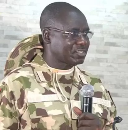 Buratai speaks. 1