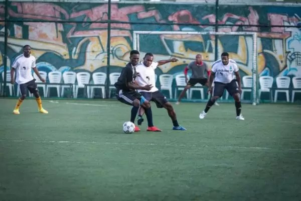 PHOTOS FROM THE HOW FOUNDATION BLUE-STATE CHARITY FOOTBALL MATCH 8