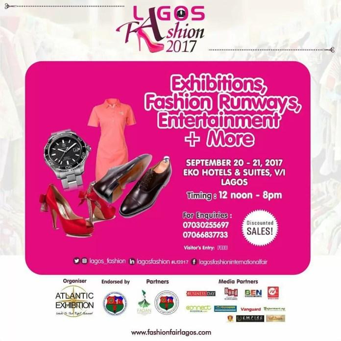 Lagos Fashion Fair 2017 is here!!! 1