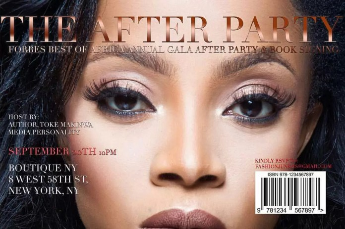 GALA after party with Toke Makinwa 1