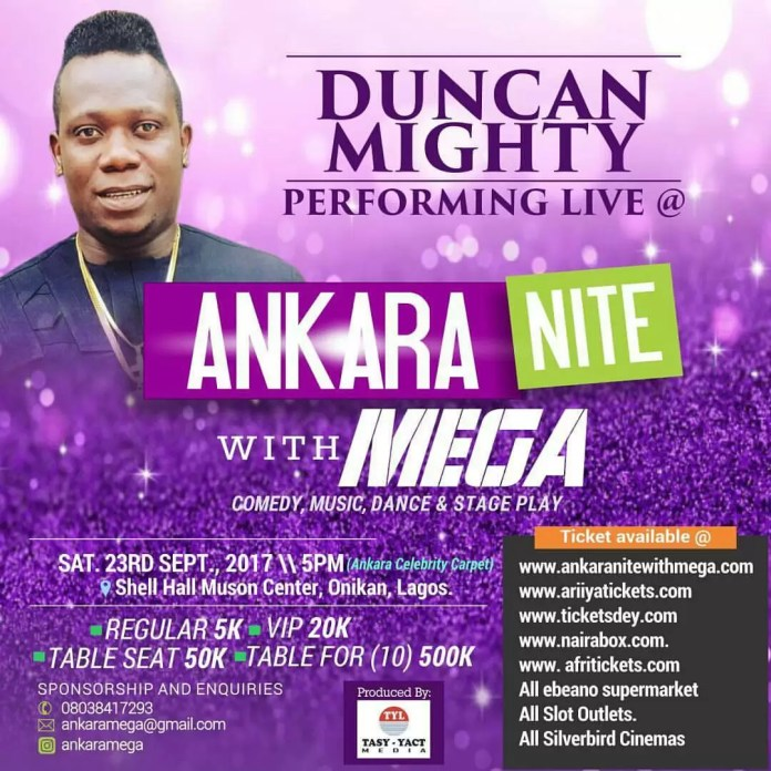 Ankara Nite with Mega 1