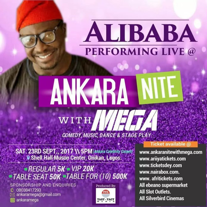 Ankara Nite with Mega 4