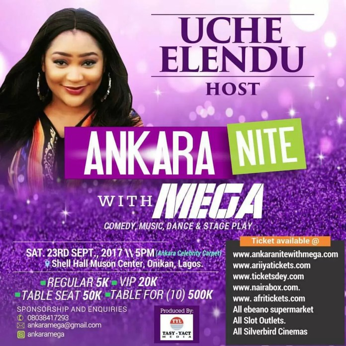 Ankara Nite with Mega 3