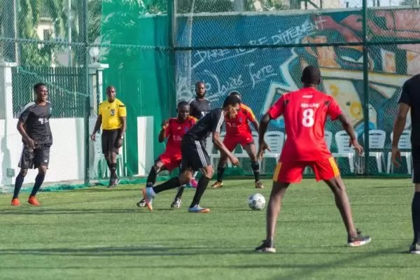 PHOTOS FROM THE HOW FOUNDATION BLUE-STATE CHARITY FOOTBALL MATCH 1