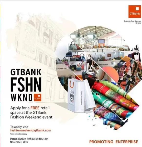 GTBank Fashion weekend 2017 1