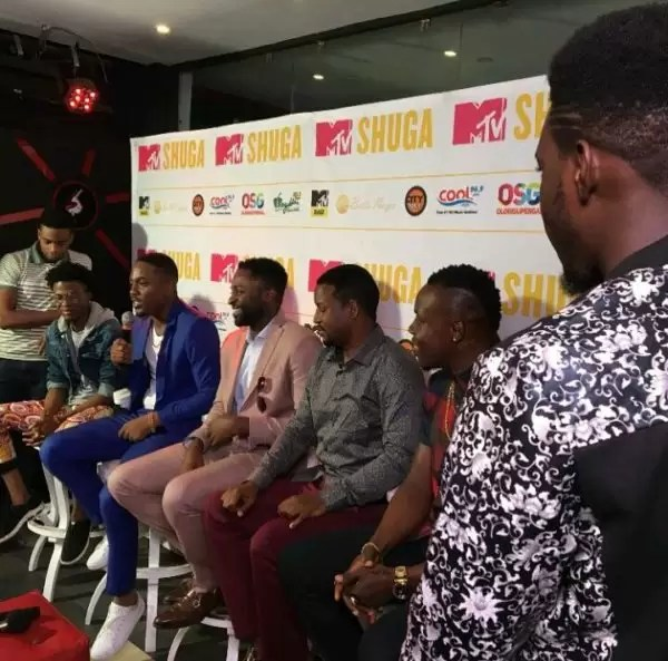 MTV Shuga press conference 1