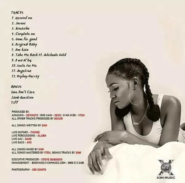 #Simisola the album 2