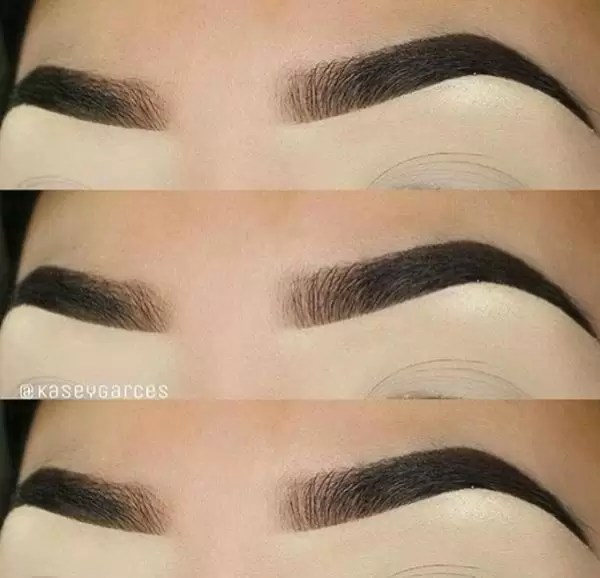 Manicure and Makeup monday- carved brows 2