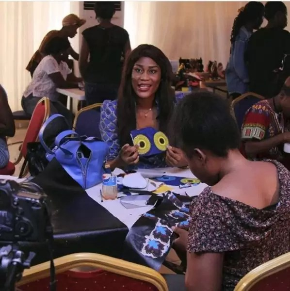 AiCare Foundation, founder, Annie Idibia 10