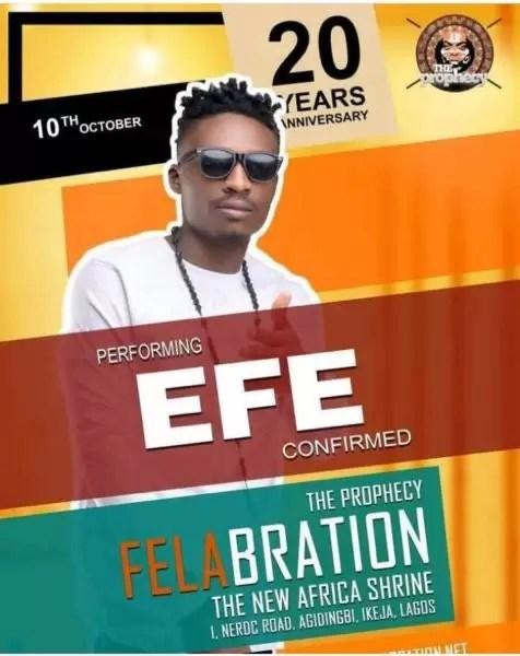 Felabration2017- Davido cancels performance 14