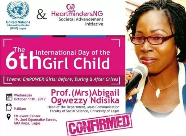 International Girl Child Day-  Empower Girls: Before, During and After Crisis 14