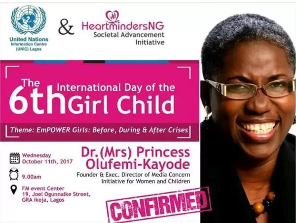 International Girl Child Day-  Empower Girls: Before, During and After Crisis 12