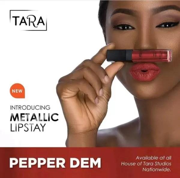 New product alert! HouseofTara introduces new metallic lipstay 7