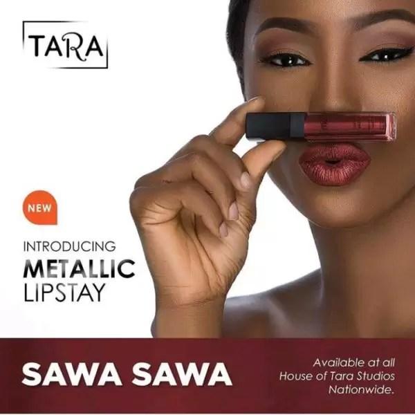 New product alert! HouseofTara introduces new metallic lipstay 5