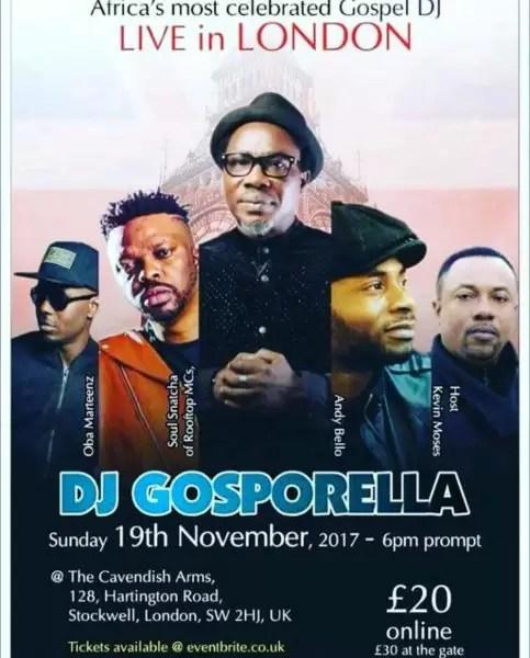 It is Dj gosporella! UK are you ready! 3