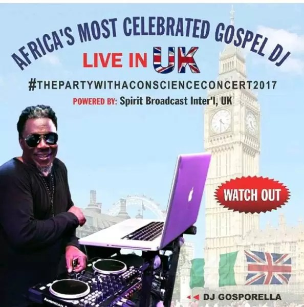 It is Dj gosporella! UK are you ready! 1